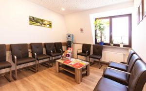 Wartezimmer der Neuropraxis Kotova